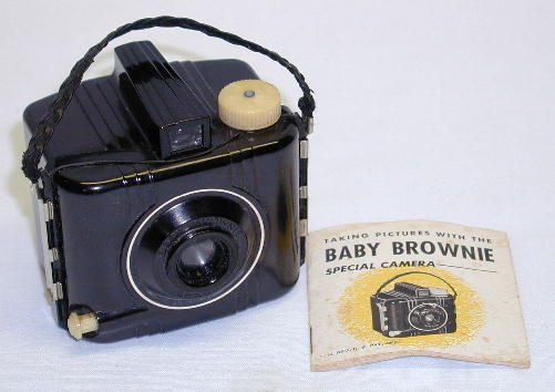 Reduced Image of Kodak Baby Brownie Special Camera 1939-1959 Click to Enlarge. You may have to click allow popups to view